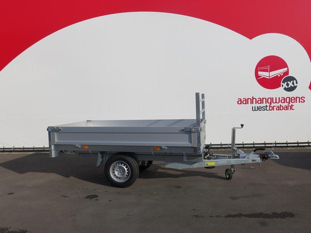 Saris kipper 255x135cm 1400kg Aanhangwagens XXL West Brabant 2.0 zijkant
