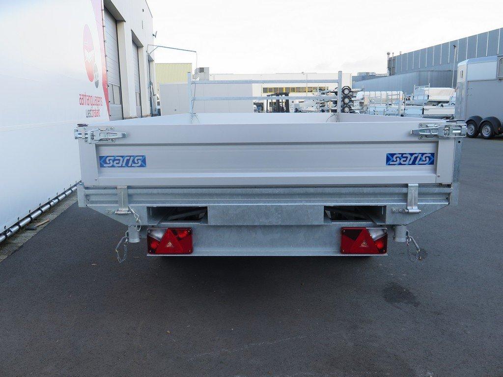 Saris kipper 330x184cm 2700kg Aanhangwagens XXL West Brabant 2.0 achterkant