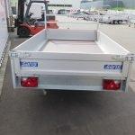 Saris plateauwagen 270x150cm 1350kg Aanhangwagens XXL West Brabant 3.0 achter dicht