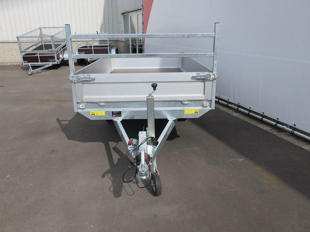 Saris plateauwagen 270x150cm 1350kg Aanhangwagens XXL West Brabant 3.0 voorkant