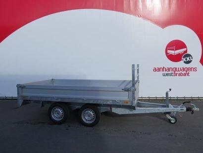 Saris plateauwagen 306x170cm 2000kg Aanhangwagens XXL West Brabant 3.0 hoofd