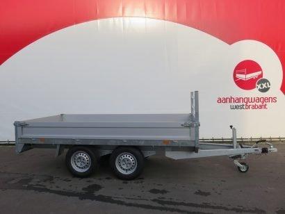 Saris plateauwagen 330x170cm 2700kg Aanhangwagens XXL West Brabant 2.0 hoofd