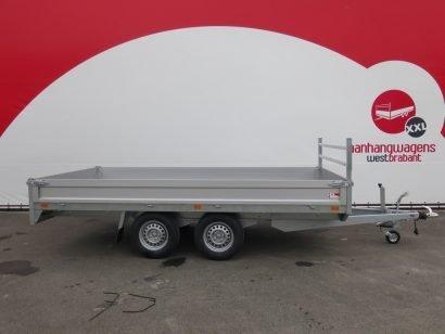 Saris plateauwagen 406x204cm 2700kg Aanhangwagens XXL West Brabant 2.0 hoofd