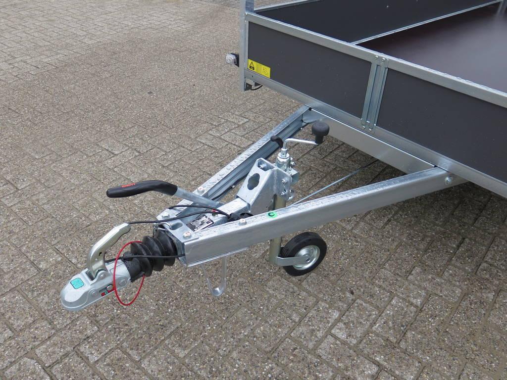 Saris tandemas 306x154cm bakwagens tandemas Aanhangwagens XXL West Brabant dissel