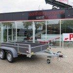 Saris tandemas 306x154cm bakwagens tandemas Aanhangwagens XXL West Brabant hoofd