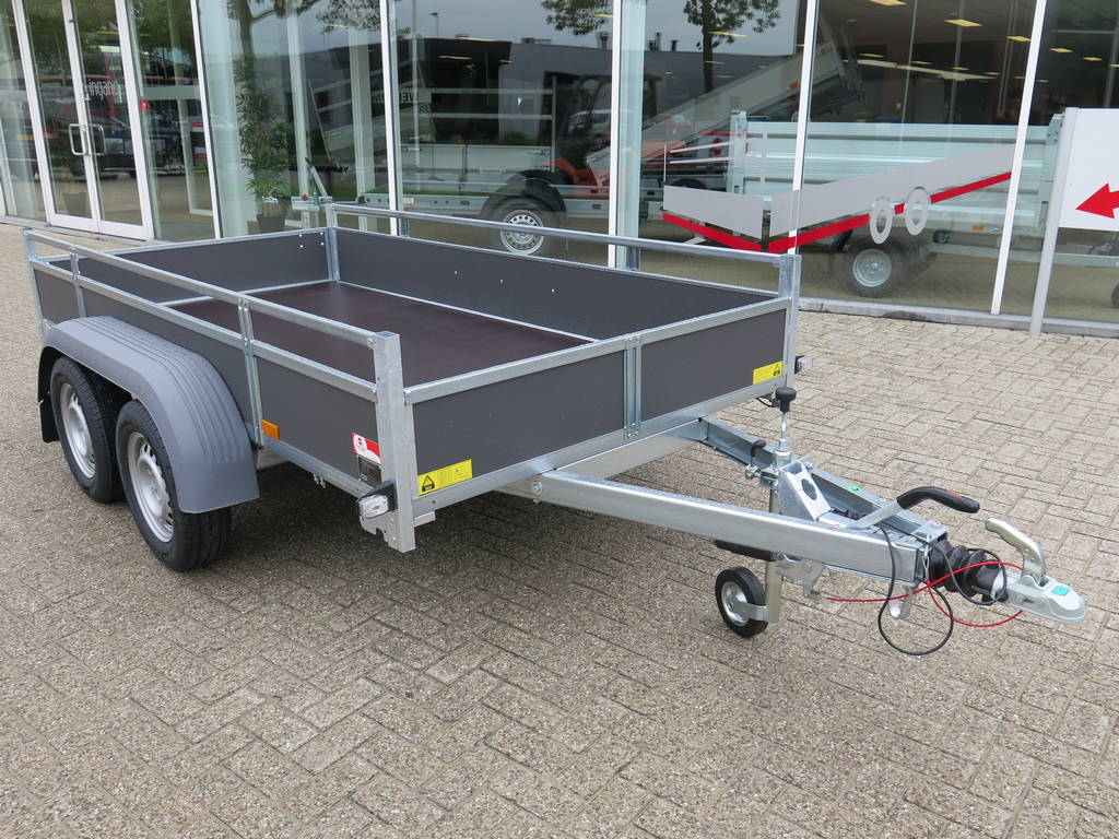 Saris tandemas 306x154cm bakwagens tandemas Aanhangwagens XXL West Brabant overzicht