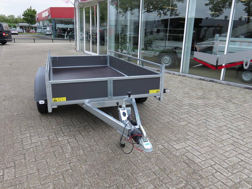 Saris tandemas 306x154cm bakwagens tandemas Aanhangwagens XXL West Brabant voorkant