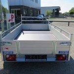 Saris tandemas alu 305x153cm bakwagens tandemas Aanhangwagens XXL West Brabant achterkant