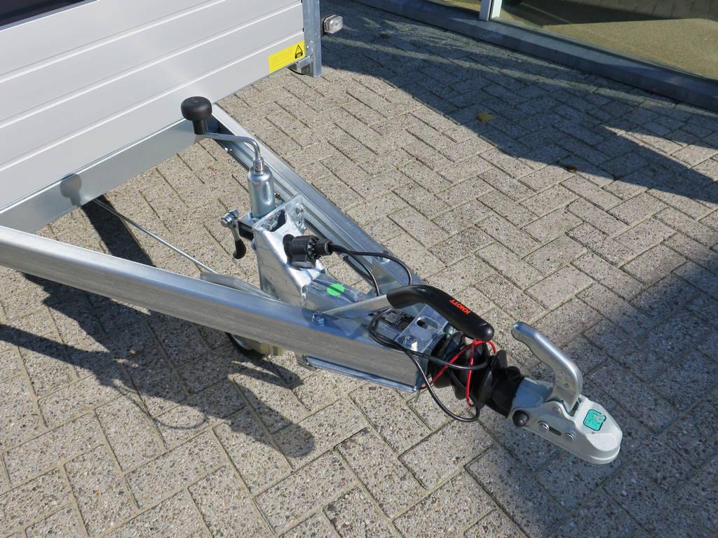 Saris tandemas alu 305x153cm bakwagens tandemas Aanhangwagens XXL West Brabant dissel