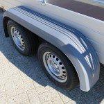 Saris tandemas alu 305x153cm bakwagens tandemas Aanhangwagens XXL West Brabant dubbele as