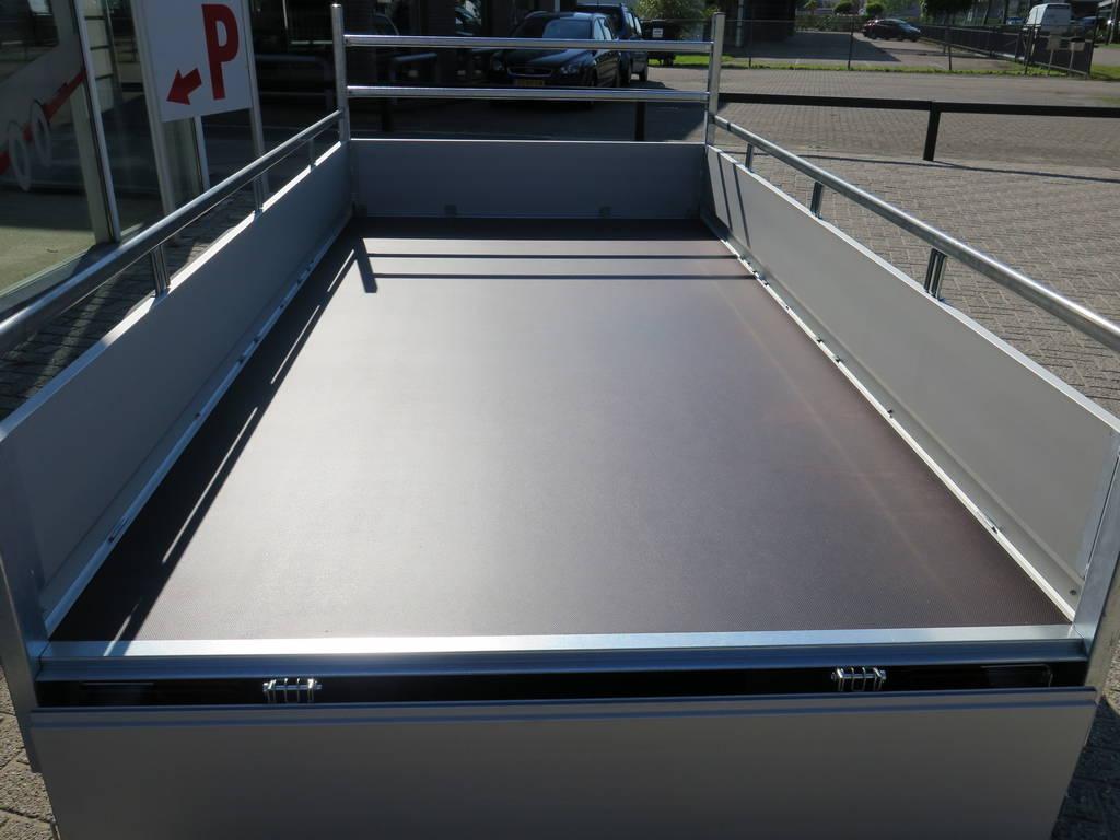 Saris tandemas alu 305x153cm bakwagens tandemas Aanhangwagens XXL West Brabant geopend