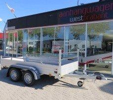 Saris tandemas alu 305x153cm bakwagens tandemas Aanhangwagens XXL West Brabant hoofd