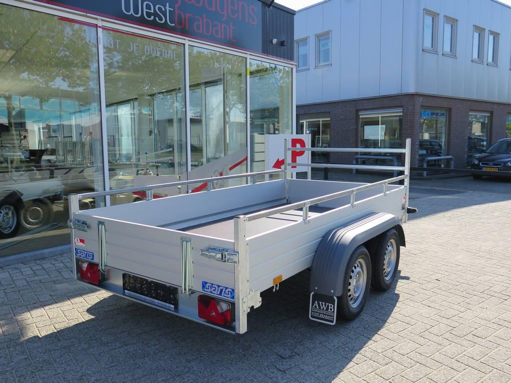 Saris tandemas alu 305x153cm bakwagens tandemas Aanhangwagens XXL West Brabant overzicht