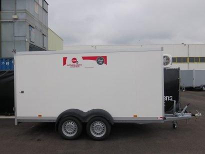 Verhuur 10. 13m3 gesloten aanhanger 400x180x180cm Aanhangwagens XXL West Brabant hoofd