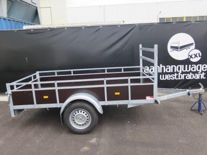 Verhuur 19A. 750kg Loady enkelas 250x130cm Aanhangwagens XXL West Brabant hoofd