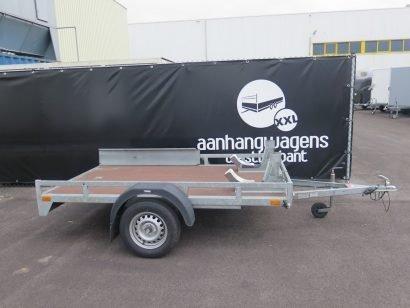 Verhuur 20A. 750kg Loady motortrailer 250x150cm Aanhangwagens XXL West Brabant hoofd