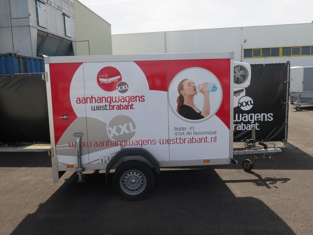 Verhuur 3A. 750kg koelwagen 250x130x150cm Aanhangwagens XXL West Brabant 2.0 hoofd