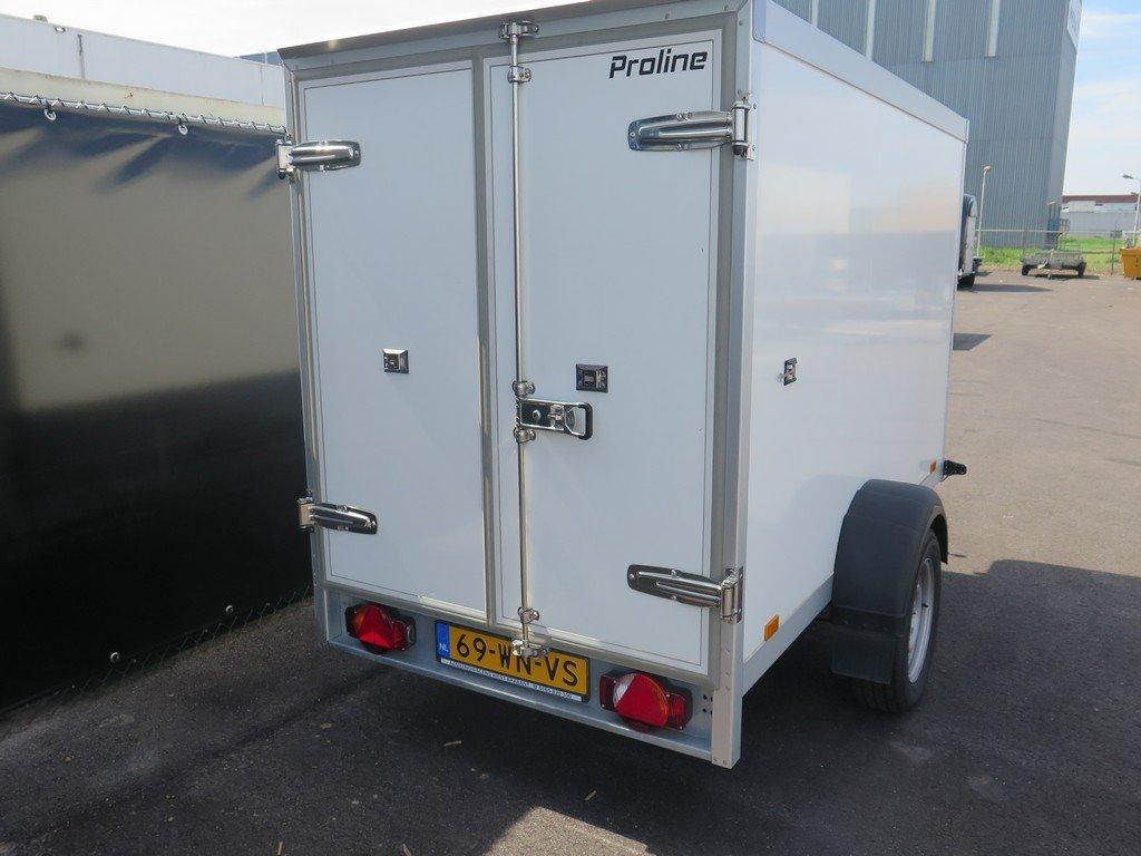 Verhuur 3B. 1300kg koelwagen 250x130x150cm Aanhangwagens XXL West Brabant 2.0 achter dicht