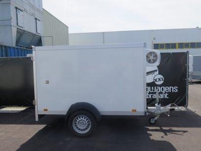 Verhuur 3B. 1300kg koelwagen 250x130x150cm Aanhangwagens XXL West Brabant 2.0 hoofd