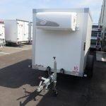 Verhuur 3B. 1300kg koelwagen 250x130x150cm Aanhangwagens XXL West Brabant 2.0 voorkant