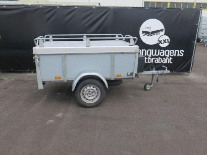 Verhuur 750kg bagagewagen 175x100x60cm Aanhangwagens XXL West Brabant hoofd