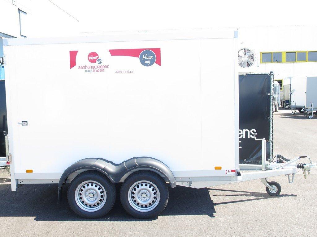 Verhuur 8. 8m3 koelwagen 300x146x180cm Aanhangwagens XXL West Brabant hoofd