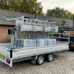 Proline plateauwagen 401x202cm 3500kg verlaagd