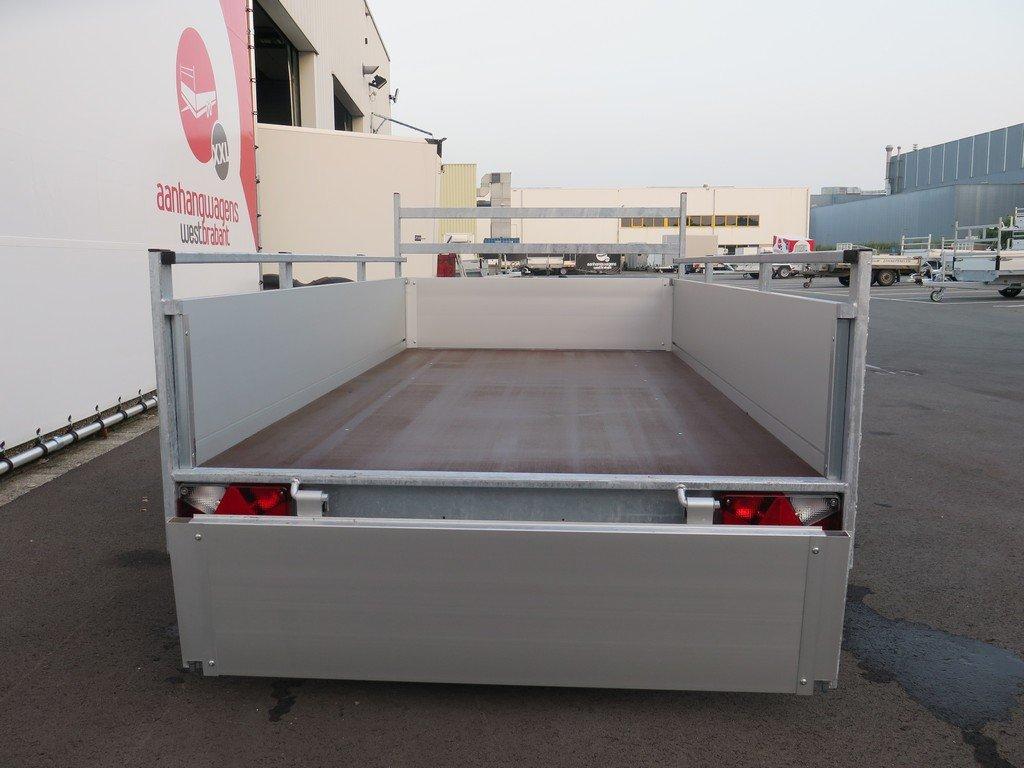Anssems enkelas aanhanger 251x130cm 750kg alu Aanhangwagens XXL West Brabant 3.0 achter open Aanhangwagens XXL West Brabant