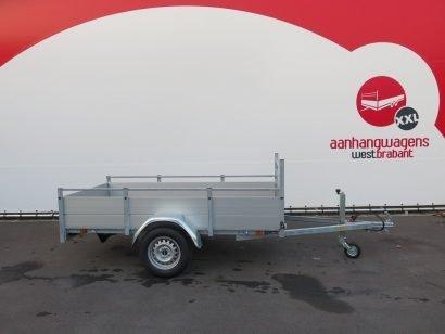 Anssems enkelas aanhanger 251x130cm 750kg alu Aanhangwagens XXL West Brabant 3.0 hoofd