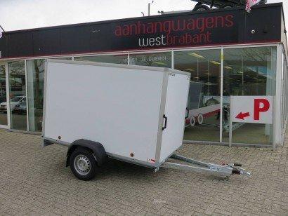 Easyline gesloten 249x147x150cm 1300kg Aanhangwagens XXL West Brabant hoofd