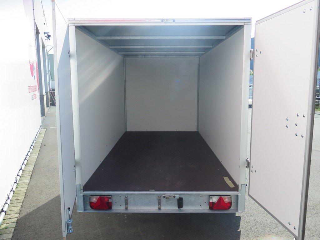Easyline gesloten aanhanger 300x150x150cm 1500kg Aanhangwagens XXL West Brabant 2.0 achter open