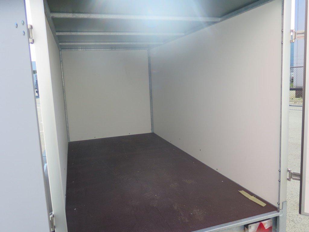 Easyline gesloten aanhanger 300x150x150cm 1500kg Aanhangwagens XXL West Brabant 2.0 binnenkant