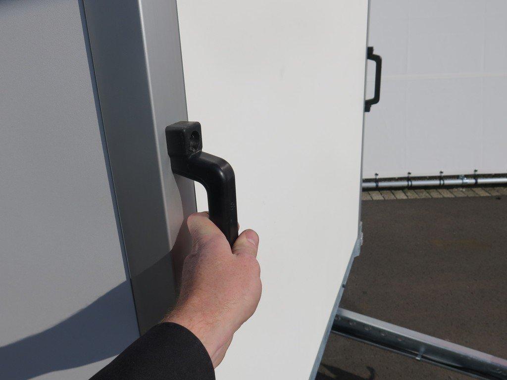 Easyline gesloten aanhanger 300x150x150cm 1500kg Aanhangwagens XXL West Brabant 2.0 handvatten