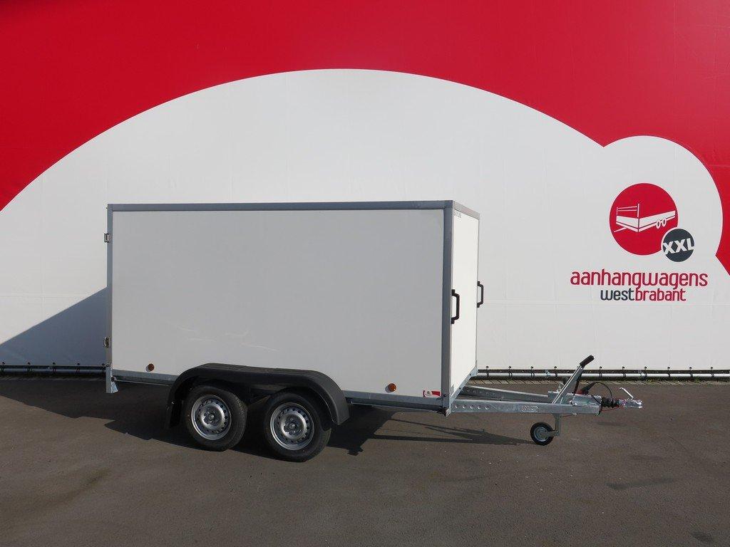 Easyline gesloten aanhanger 300x150x150cm 1500kg Aanhangwagens XXL West Brabant 2.0 hoofd