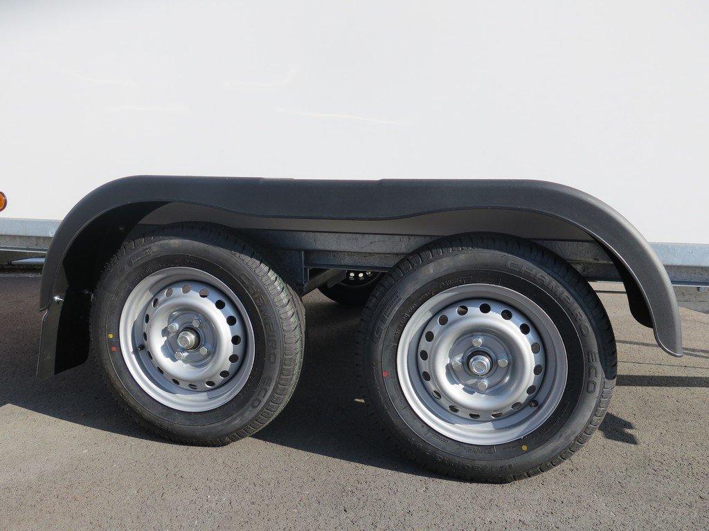 Easyline gesloten aanhanger 300x150x150cm 1500kg Aanhangwagens XXL West Brabant 2.0 tandemas