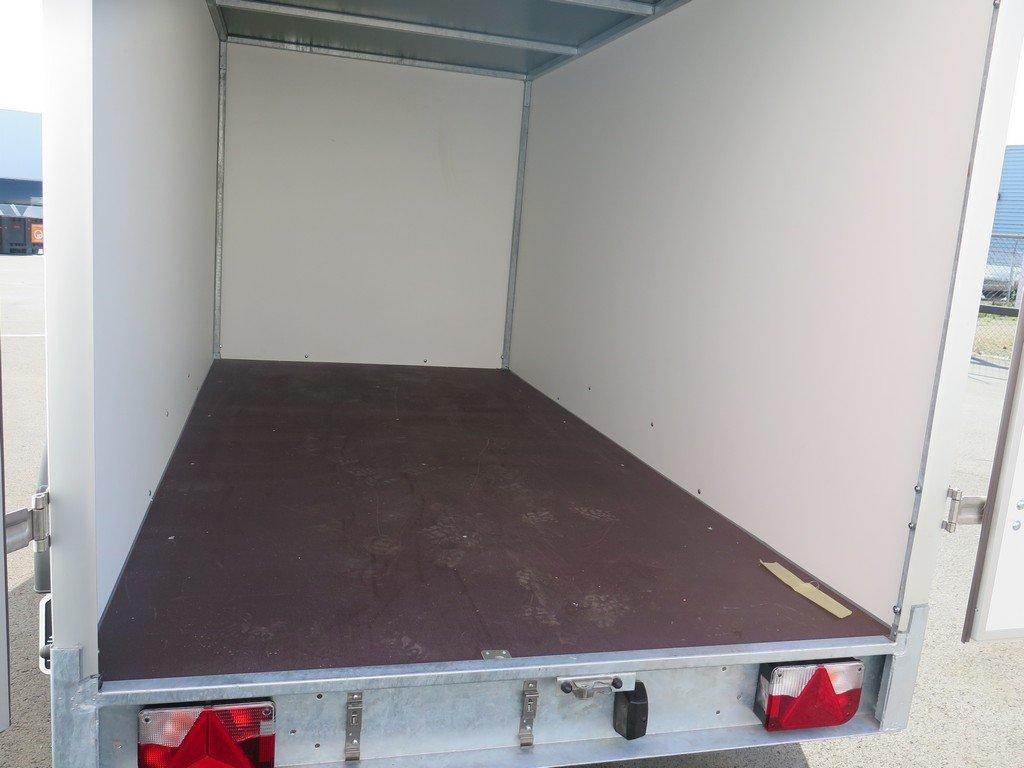 Easyline gesloten aanhanger 300x150x150cm 1500kg Aanhangwagens XXL West Brabant 2.0 vloer