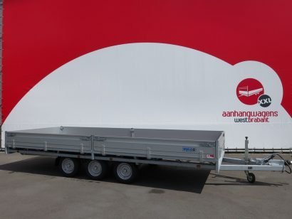 Hulco plateauwagen 500x200cm 3500kg tridemas Aanhangwagens XXL West Brabant hoofd