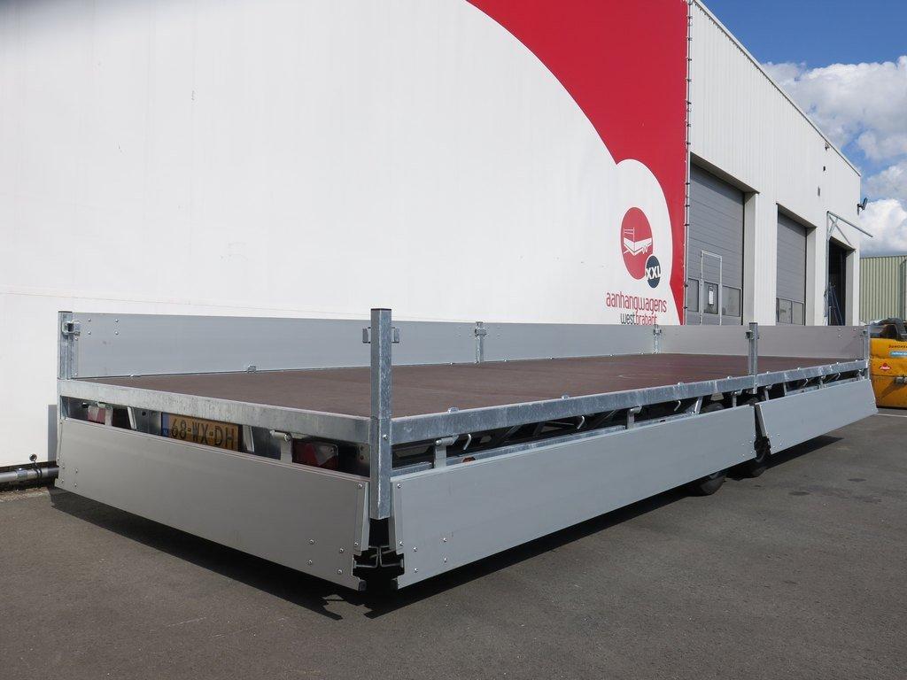 Hulco plateauwagen 611x203cm 3000kg