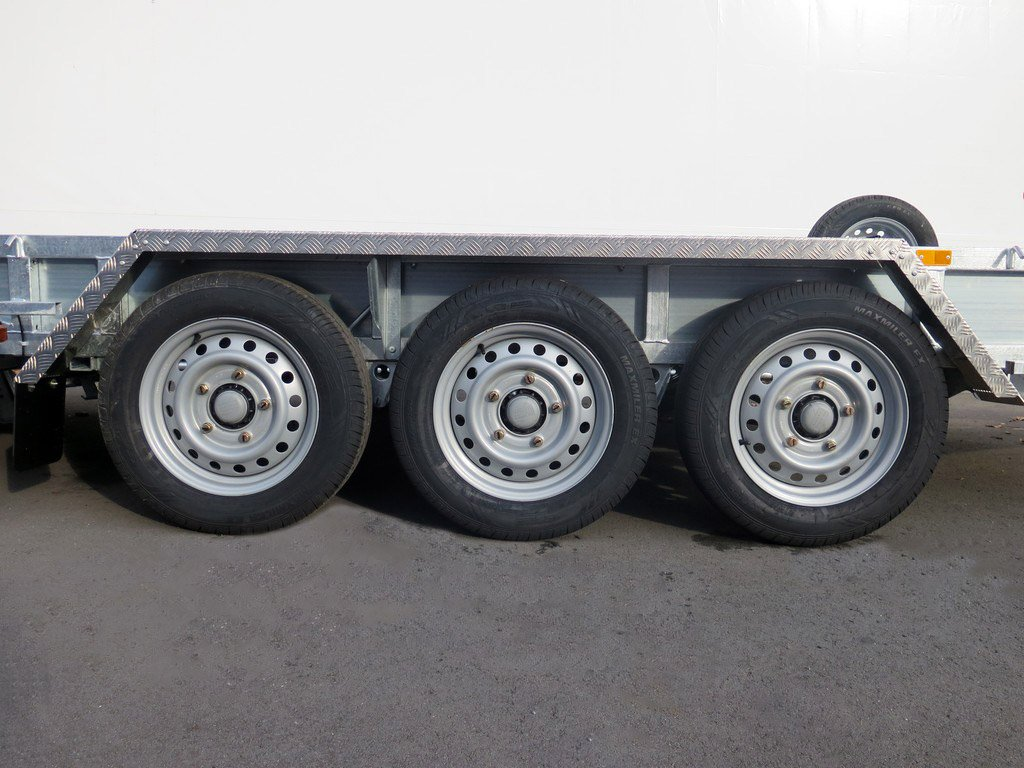Ifor Williams GP147 machinetransporter 429x193cm 3500kg tridemas