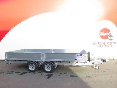 Ifor Williams plateauwagen 423x198cm 3500kg tandemas Aanhangwagens XXL West Brabant 2.0 hoofd