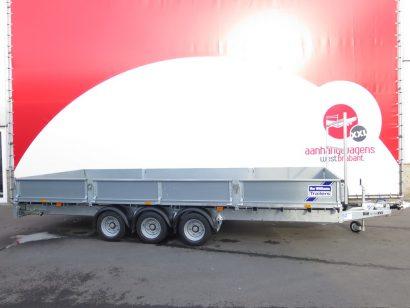Ifor Williams plateauwagen 547x225cm 3500kg tridemas Aanhangwagens XXL West Brabant 3.0 hoofd