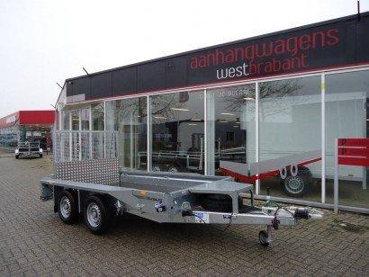 Ifor Williams transporter 303x157cm 2700kg machinetransporter Aanhangwagens XXL West Brabant hoofd