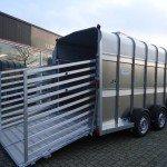 Ifor Williams veetrailer 427x178x213cm veetrailers Aanhangwagens XXL West Brabant oploopklep