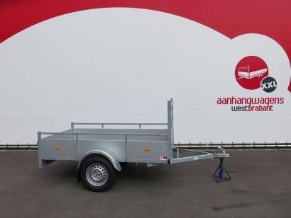 Loady enkelas aanhanger 200x132cm 750kg alu Aanhangwagens XXL West Brabant 2.0 hoofd