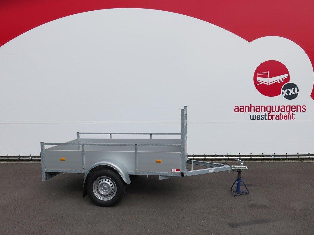 Loady enkelas aanhanger 200x130cm 750kg aluminium Loady enkelas aanhanger 200x132cm 750kg alu Aanhangwagens XXL West Brabant 2.0 hoofd