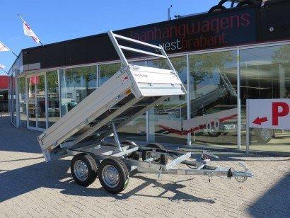 Loady kipper 257x157cm 750kg 2-as kippers Aanhangwagens XXL West Brabant hoofd