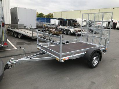 Loady machinetransporter 307x157cm 750kg Aanhangwagens XXL West Brabant 2.0 hoofd