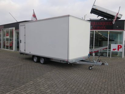 Proline gesloten 501x201x200cm 2500kg gesloten aanhangwagen Aanhangwagens XXL West Brabant hoofd 2.0 Aanhangwagens XXL West Brabant