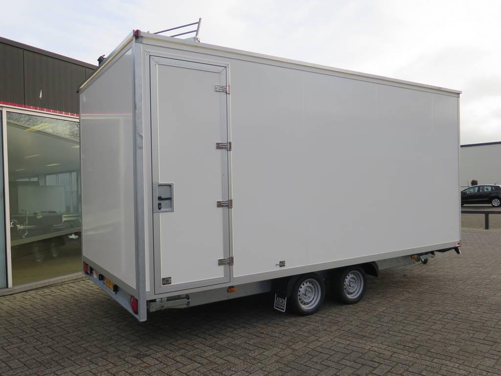 Proline gesloten 501x201x200cm 2500kg gesloten aanhangwagen Aanhangwagens XXL West Brabant overzicht 2.0