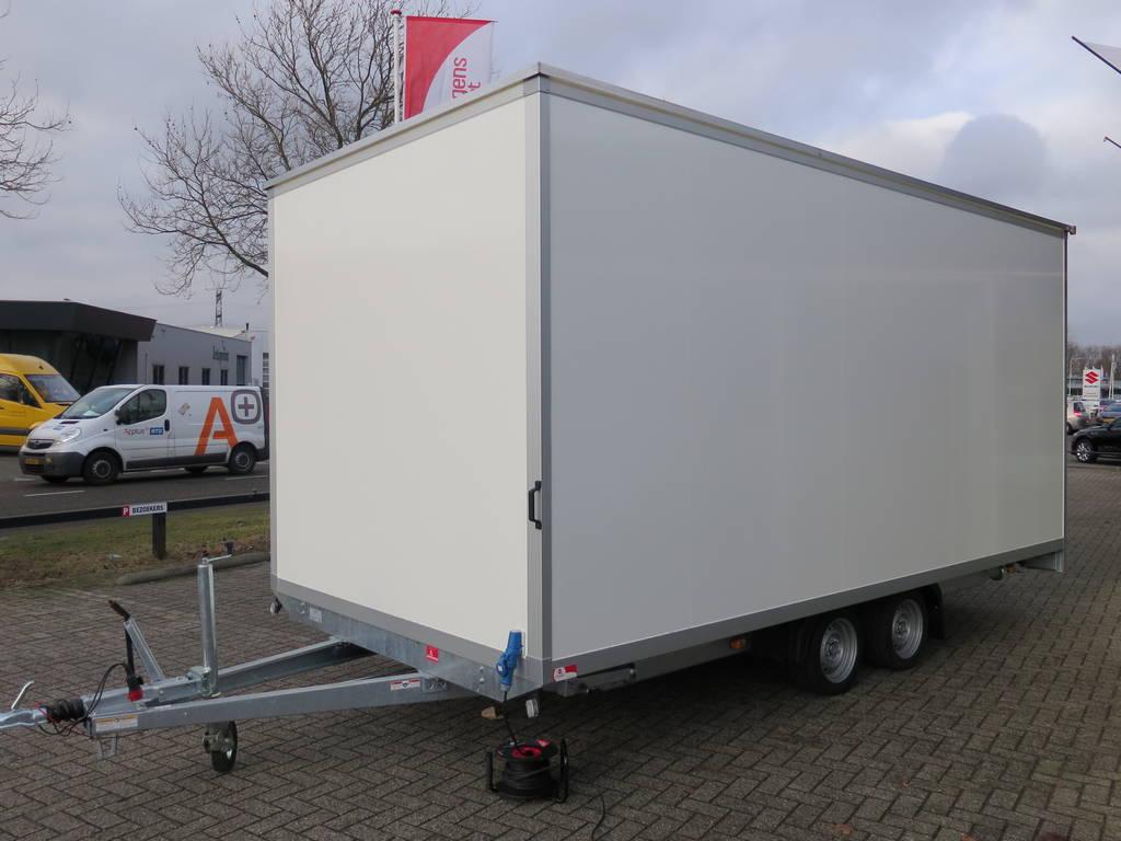 Proline gesloten 501x201x200cm 2500kg gesloten aanhangwagen Aanhangwagens XXL West Brabant voorkant 2.0